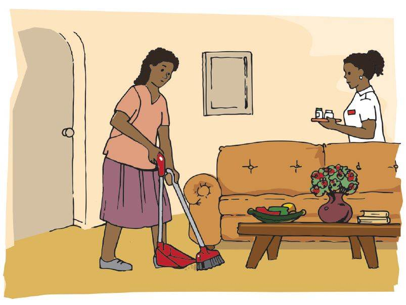 What are the rights of live-in domestic workers?